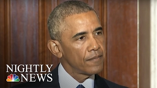 Angry President Obama Tears Into Donald Trump Like Never Before | NBC Nightly News