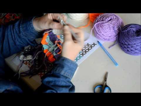 Part 3 Grapghgan in C2C - Crochet - Tutorial - English