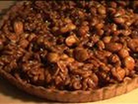 How To Make Mixed Nut Toffee Tart