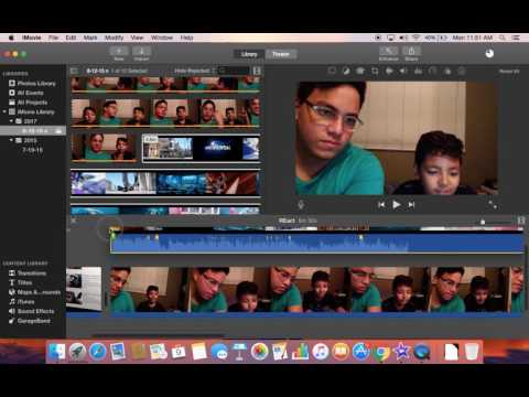 How to edit a Reaction video on iMovie