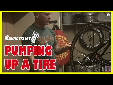 How To Pump Up A Bicycle Tire or Tube
