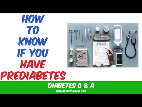 How Do You Know If You Have Prediabetes