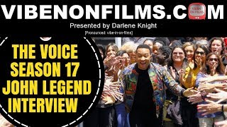 THE VOICE SEASON 17 PREMIERE JOHN LEGEND INTERVIEW