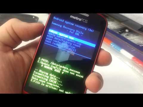 Samsung Admire Hard Reset Metro PCS