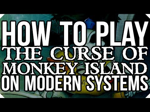 How To Install and Play The Curse of Monkey Island 3