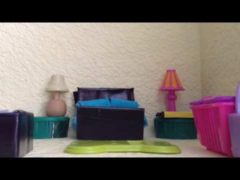 Lps how to make a parents bedroom