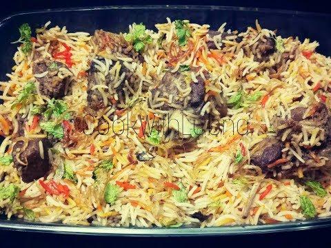 Mutton Biryani Recipe/Eid Special/Easy Mutton Dam BIryani