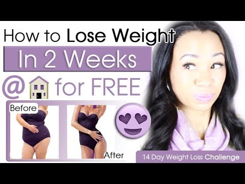 How to Lose Weight in Two Weeks at Home for FREE