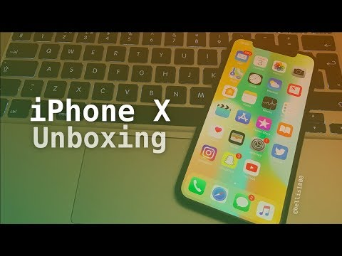 My iPhone X UNBOXING | 256GB Space Grey iPhone X