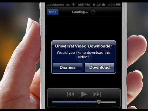 Download Any Video W/ Universal Video Downloader (Cydia)