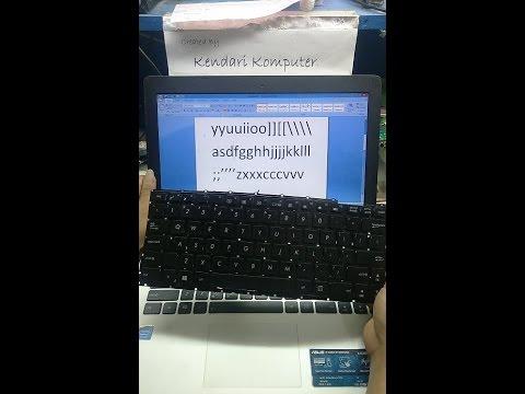 Cara ganti keyboard laptop Asus X453M