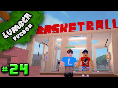 Lumber Tycoon Ep  24: LOCUS' AWESOME BASE!!! | Roblox