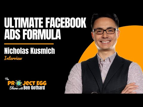 Nicholas Kusmich: Facebook Advertising Bootcamp To Get 30,000:1 ROI For Complete Beginners