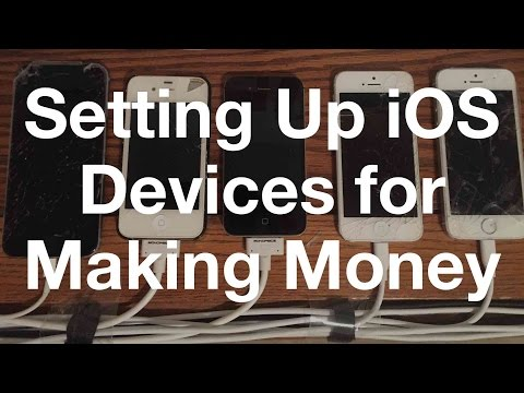 How to Set Up an iPhone to Make Money