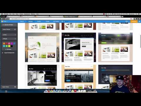 How to Change your Background Image on Weebly