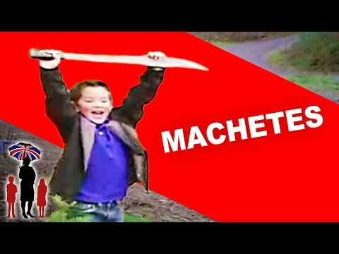 Moving House Leaves Young Brothers Obsessed With Machetes | Supernanny