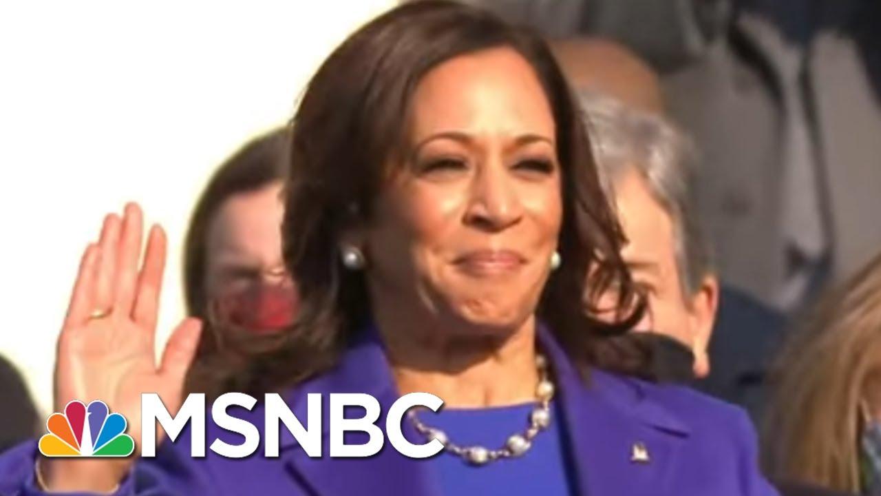 Kamala Harris Is Sworn In As Vice President | MSNBC