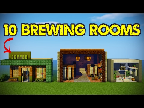 10 Minecraft Brewing Room Designs!