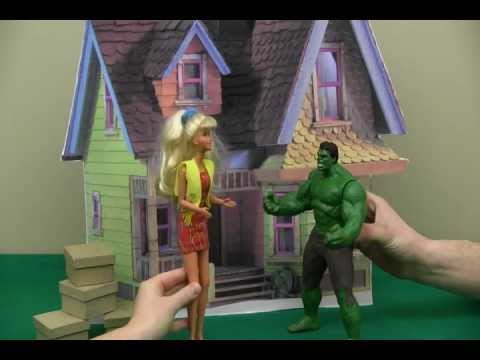 Barbie and The Hulk Make a Household Hazardous Waste Appointment