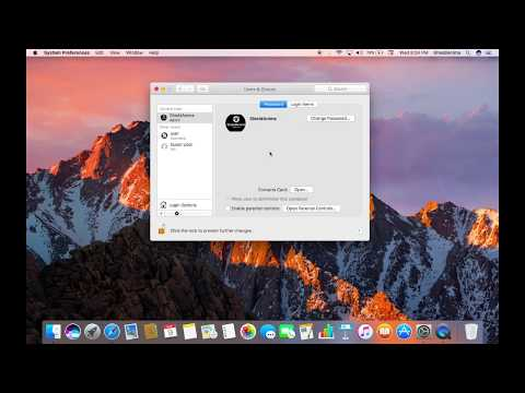 how to change the name of admin in mac OS Sierra 10.12.6(Easiest way to do so)