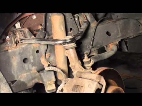 Ford explorer How to replace upper ball joint