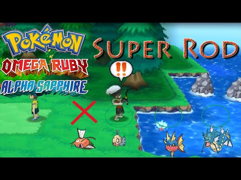 Getting the Super Rod ORAS