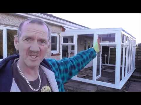 Build a conservatory p4 Glazing & Trimin Up