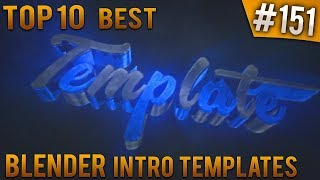 By IntroFactory FreeTemplates TOP 10 BEST Blender Intro Templates 151 Free Download