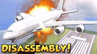 DISASSEMBLING PLANE MID AIR! - Disassembly 3D Gameplay - Taking Apart A Plane!
