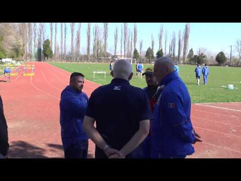 #RugbyRomania Lynn Howells a asistat la antrenamentul Romaniei U20
