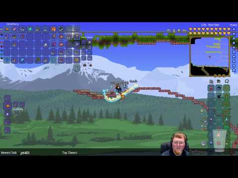 Terraria Expert Mode (World From Main Channel) • Restocking My Fish Supply • (STREAM ARCHIVE)