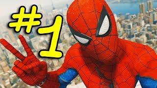 MON NOUVEAU JEU PRÉFÉRÉ !!! (SPIDERMAN PS4 #1)
