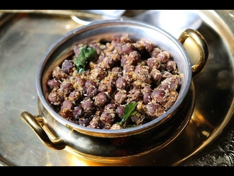 Kala Chana Masala Sundal Recipe - Kondakadalai Sundal - Navarathri Recipes