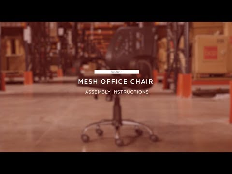 Assembly: Mesh Office Chair (SKY1630)