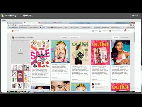 Sell Avon Online Part 3: Pinterest