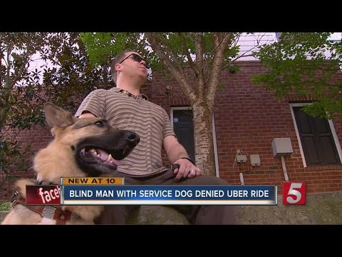 Blind Man With Guide Dog Denied Uber Ride, Stands Up For Rights