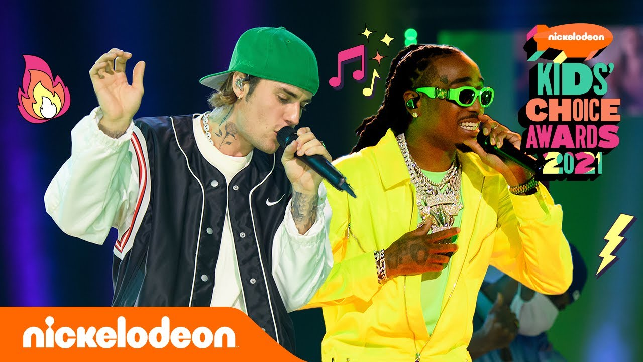 Justin Bieber – Intentions ft. Quavo (Live aux Kids' Choice Awards 2021) | Nickelodeon France