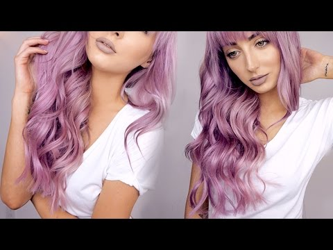 Dying My Hair Pastel Lavender / Pink | Brittany Balyn