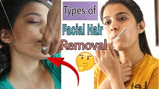 Facial Hair Removal : Shaving v/s Waxing v/s Threading ?How To Remove Facial Hair | Super Style Tips