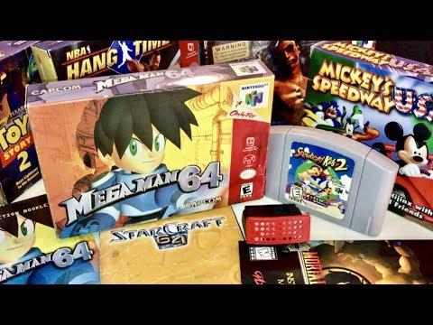 COMPLETE N64 COLLECTION! MEGA MAN MEGA DEALS!! Recent Game Pick Ups #9