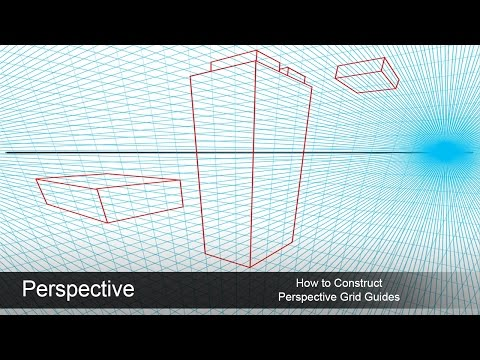 Setting Up a Perspective Grid Guide in Photoshop