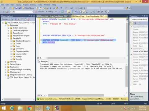 Restoring SQL database backup to previous data version