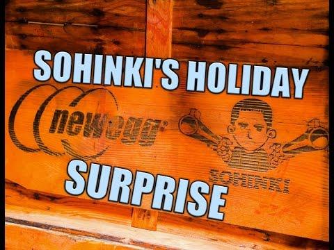 SOHINKI'S NEWEGG HOLIDAY SURPRISE
