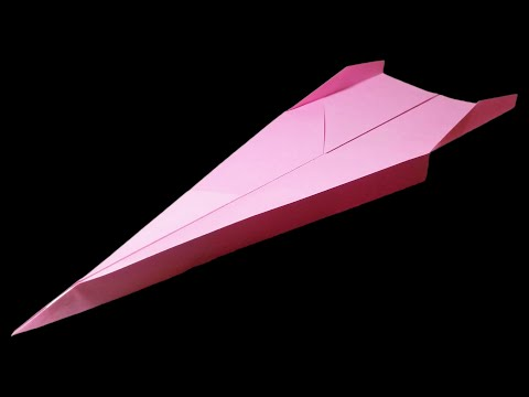 Paper planes that FLY FAR - How to make a good paper airplane . Dart