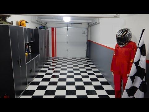 Garage floor - VCT tiles after 6 months