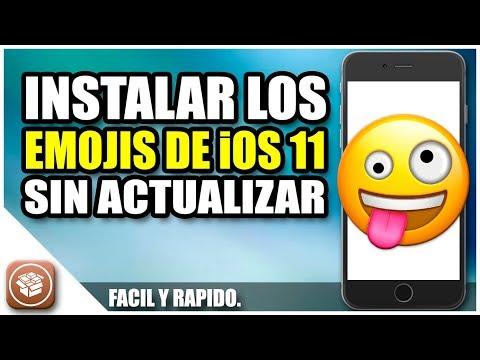Instalar los emojis de iOS 11 sin actualizar | Emojis de iOS 11 en iOS 10