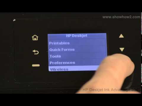 HP Deskjet Ink Advantage 3545 - Setting Up Wireless