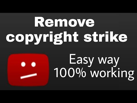 How To Remove a Copyright Strike on YouTube | Prevent Copyright Strike on YouTube | Retract Claims