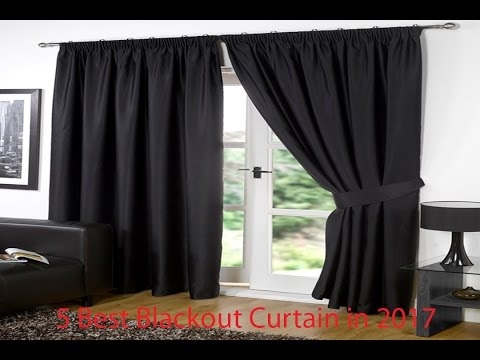 5 Best Blackout Curtain in 2017 |  Blackout Curtain Review