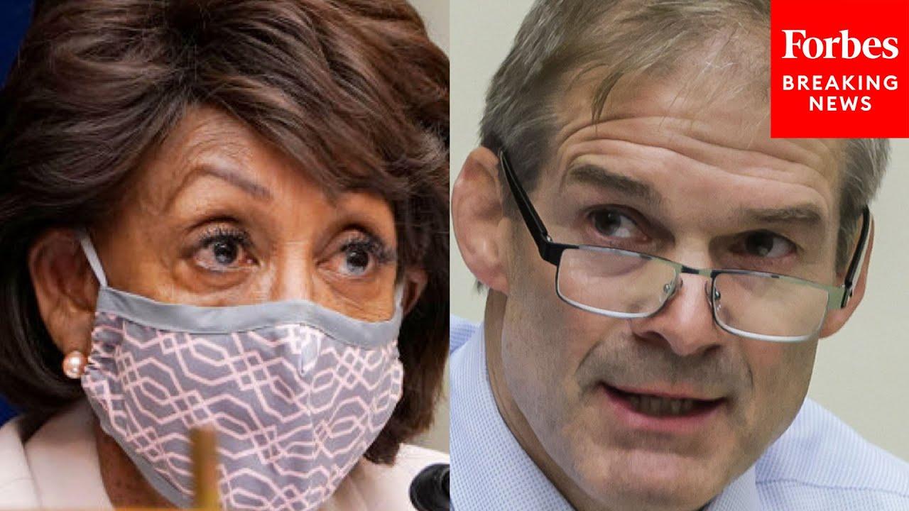 Jim Jordan Slams Maxine Waters, Rashida Tlaib, Democrats' Agenda In Fiery House Floor Remarks